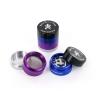 Farbiges Metall-Mahlwerk (4 Teile)