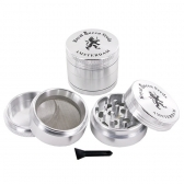 Metall-Mahlwerk (4 Teile)