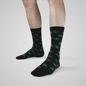 Socken mit Hanfblättern von RQS