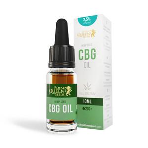 2,5% CBG & 2.5% CBD Öl