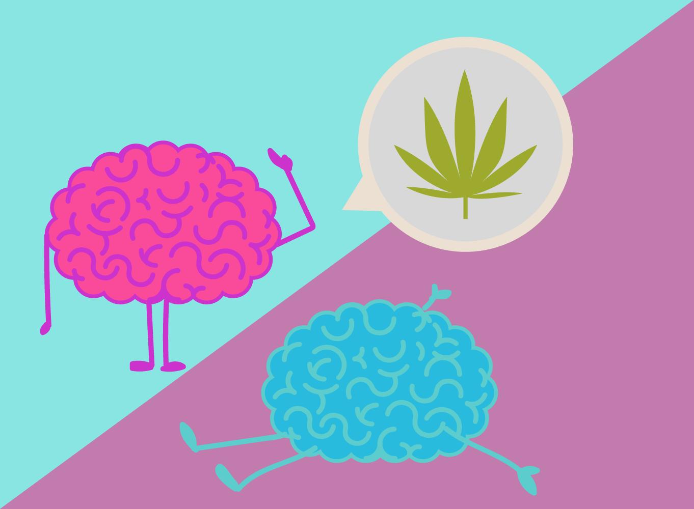 Cannabis Mann Frau Reaktionen Biochemie THC Östrogen Testosteron-Effekte