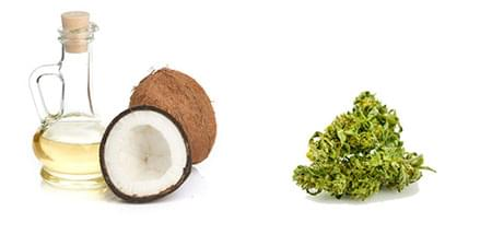 Marijuana Kokosöl-Kapseln