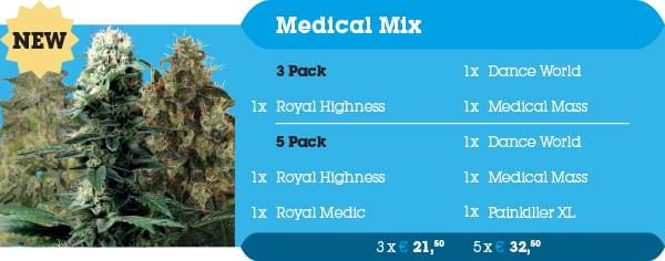 Medical cannabis Seeds Mix