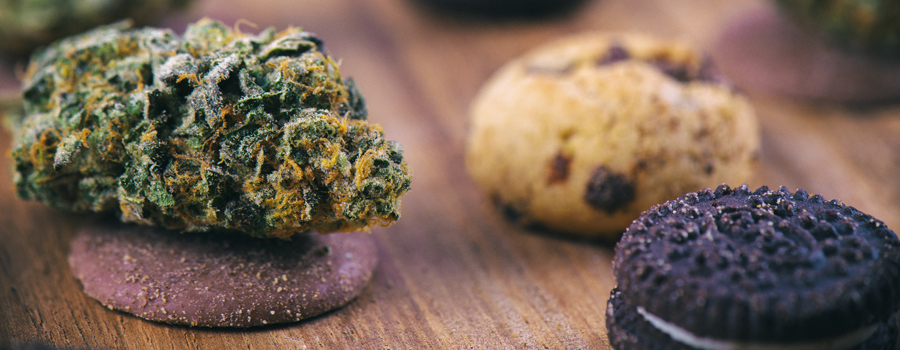 Hausgemachte Cannabiskuchen