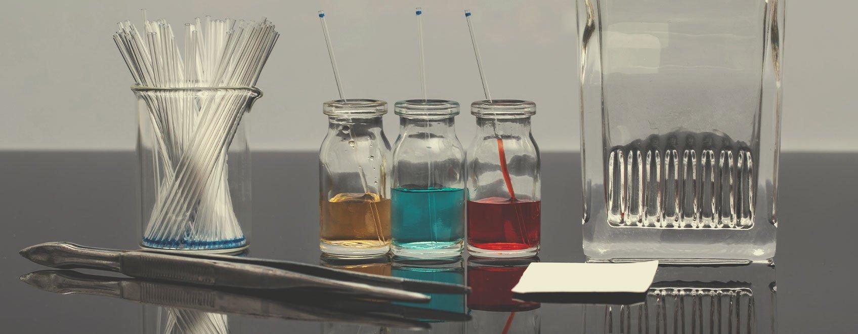 Dünnschichtchromatographie(DC)-Testsets
