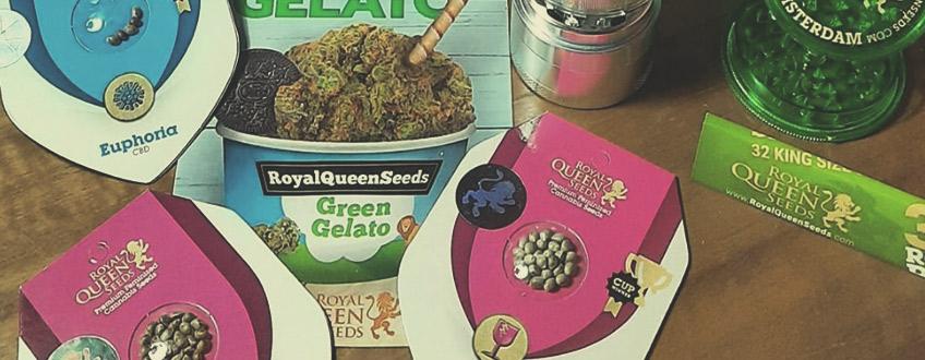 Kostenlose Cannabissamen und Merchandise