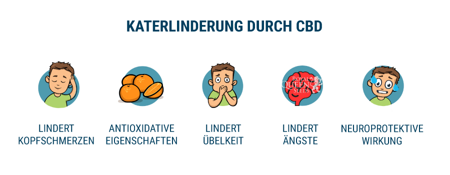 Katerlinderung durch CBD