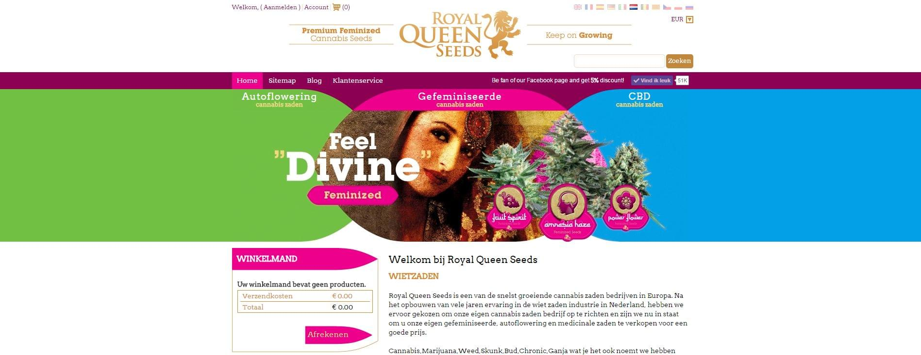Royal Queen Seeds Netherlands
