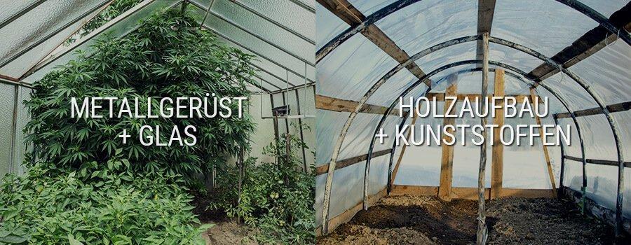 Installation von Belüftung und Bewässerung