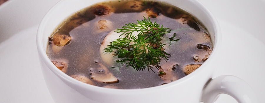 Pilz-Cannabis-Suppe