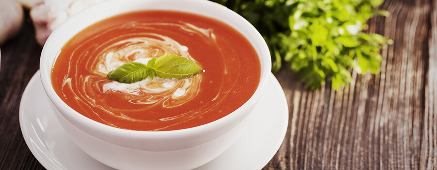 Tomaten-Cannabis-Suppe