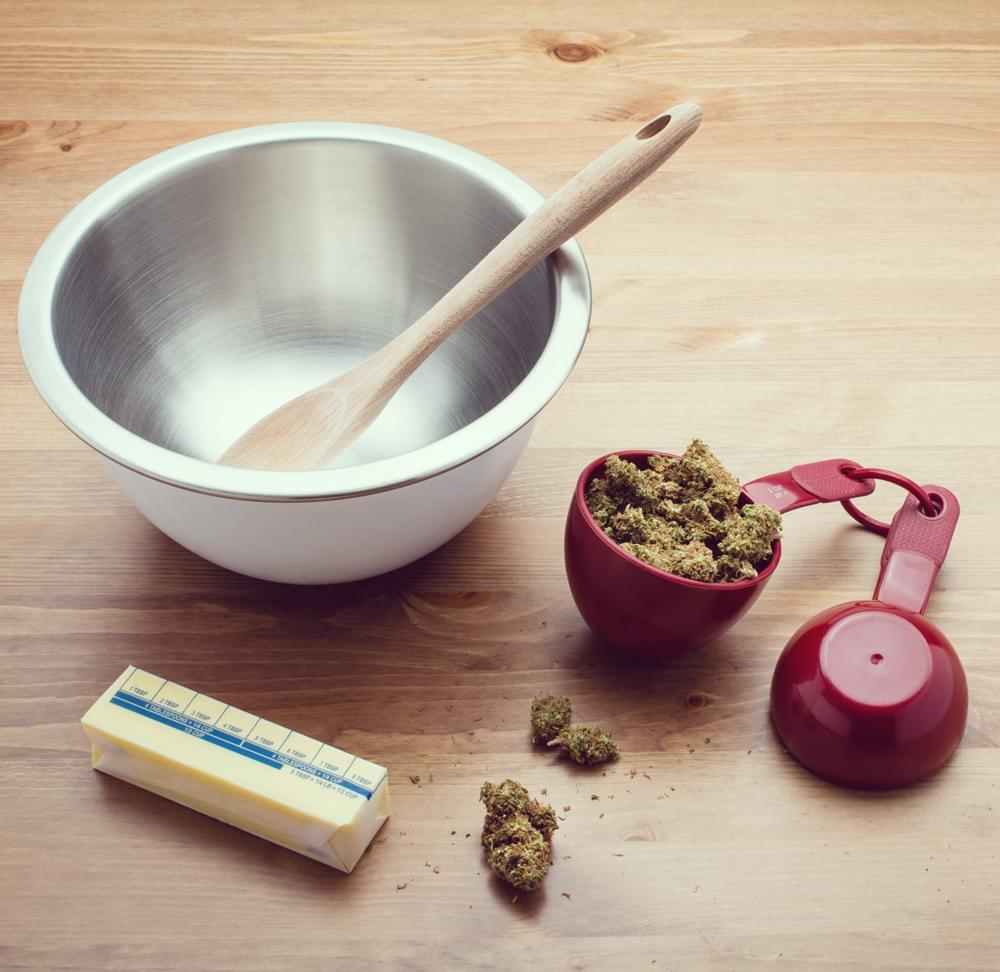 Cannabis infundierte Mayonnaise gesundes Marihuana essbares Rezept
