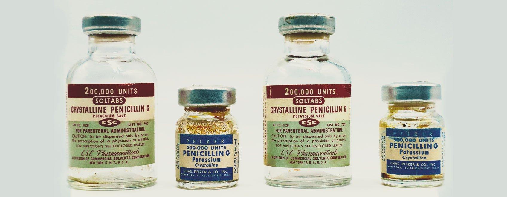 Eine kurze Geschichte der Antibiotika