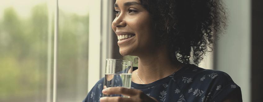 Sorge dafür, dass Du ausreichend trinkst