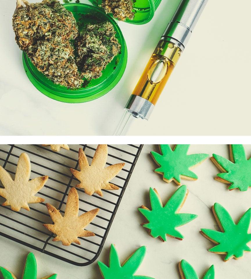Was sind die Alternativen zum Rauchen von Cannabis?