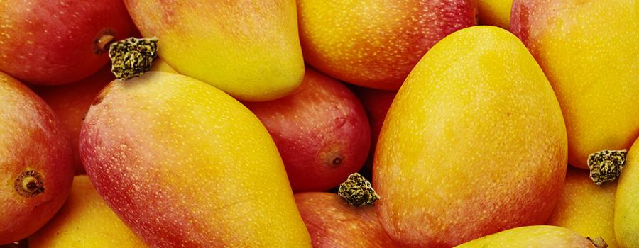 Essen Sie Mangos, um die Essanfälle zu vermeiden.