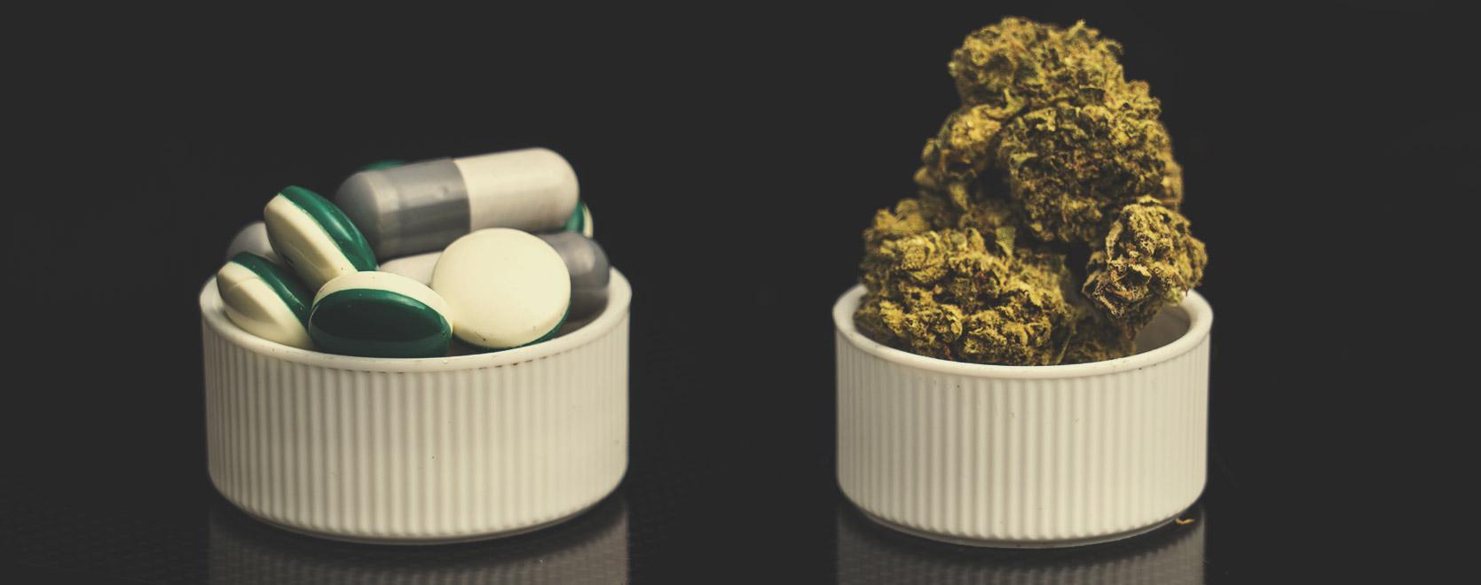 Was passiert, wenn man Opioide mit Cannabis kombiniert?