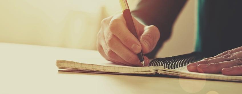 Schreib etwas