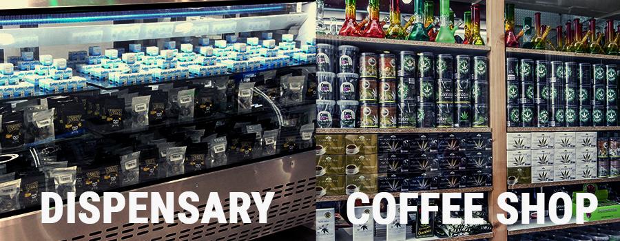 Coffeeshops und Abgabestellen