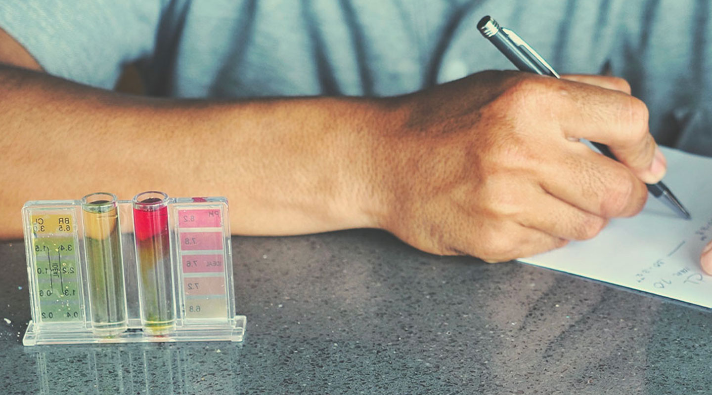 Farbkarten-Testsets