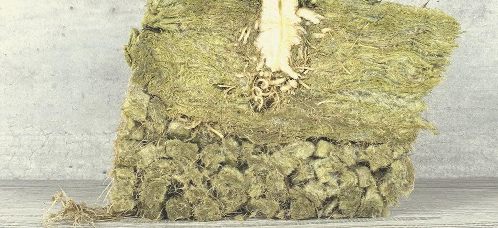Kann Steinwolle kompostiert werden?