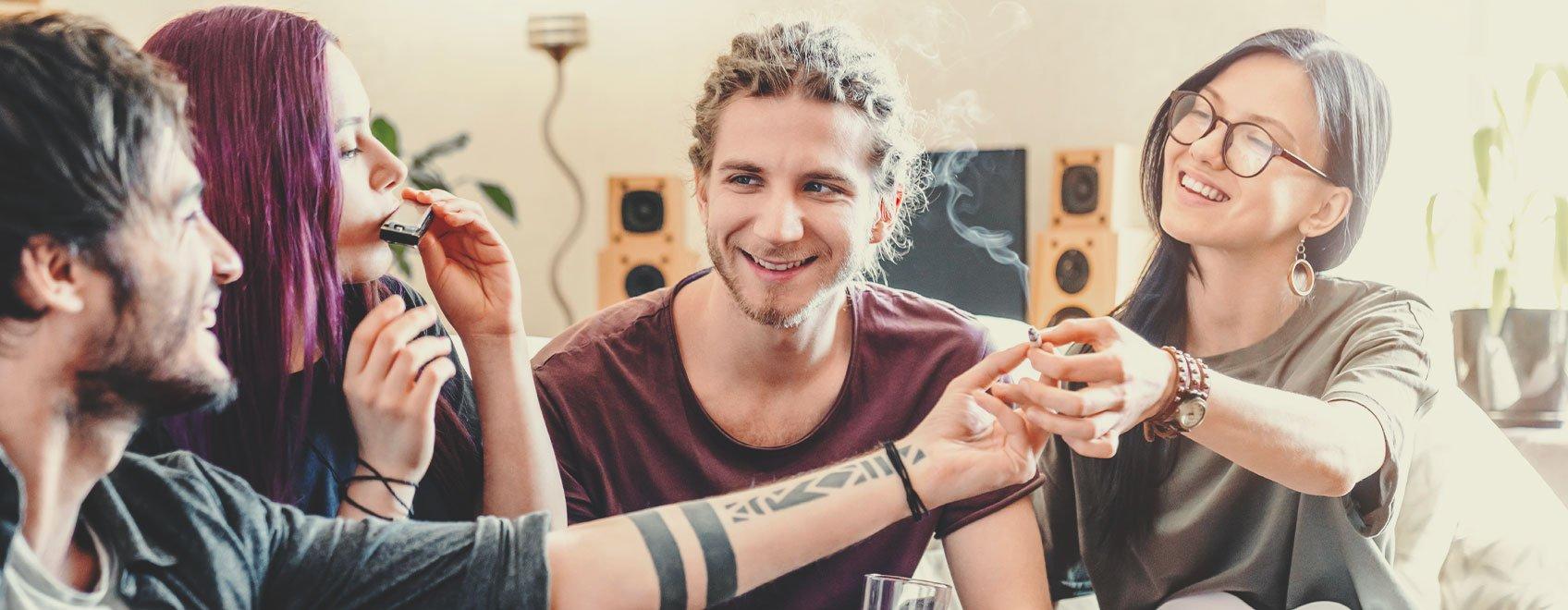 Was führt zu einer Cannabisabhängigkeit?